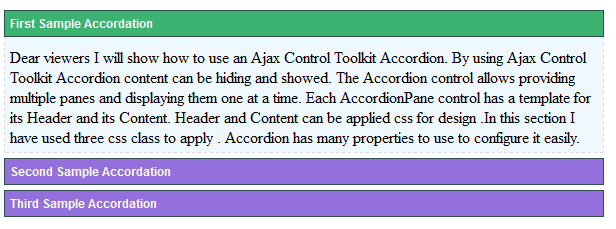 ajaxtoolkit-accordation